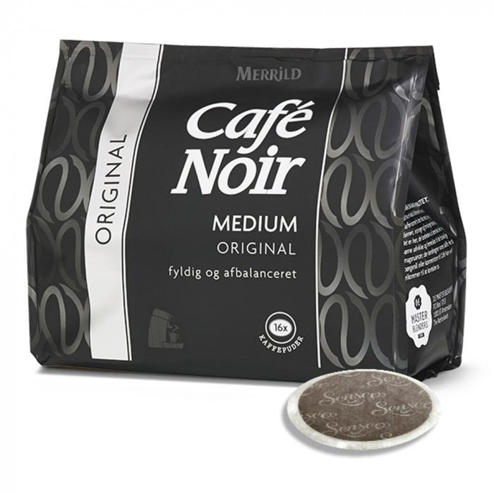"""SENSEO® """"CAFÉ NOIR"""" 16 kavos pagalvėlių, 111 g"""