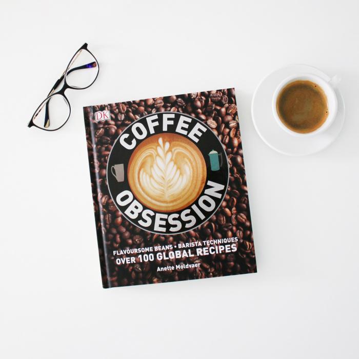 "Knyga ""Coffee Obsession"""