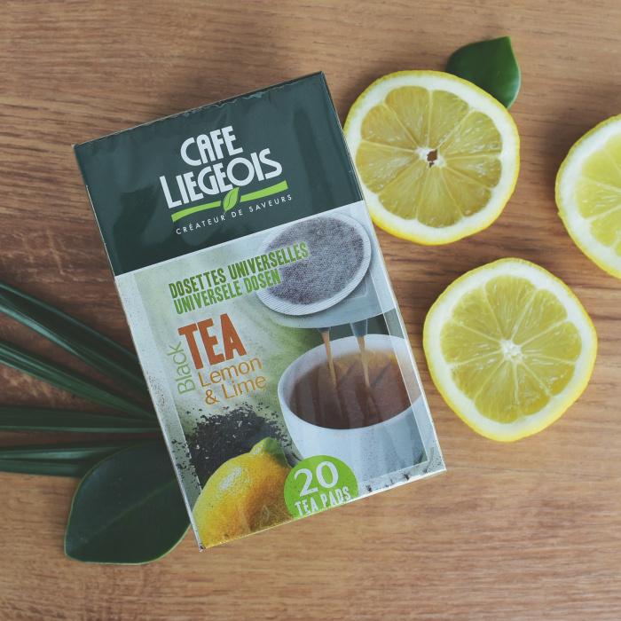 """Tea pads Cafe Liegeois """"Lemon & Lime"""""""