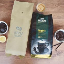 """Kafijas pupiņu komplekts """"Kivu & Magnifico"""", 2kg"""