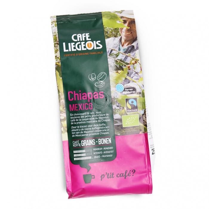 """Coffee beans Café Liegeois """"Chiapas"""", 250 g"""