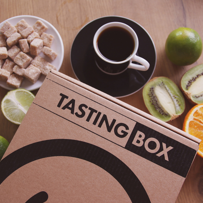 Tasting box #4 —4 different types of coffees to try!