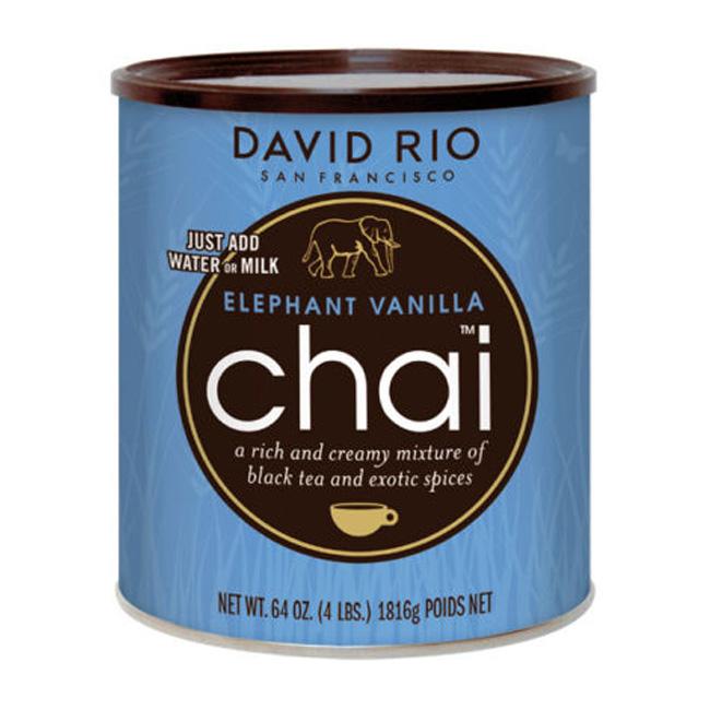 "Herbata o smaku waniliowym David Rio ""Elephant Vanilla Chai"" (puszka)"
