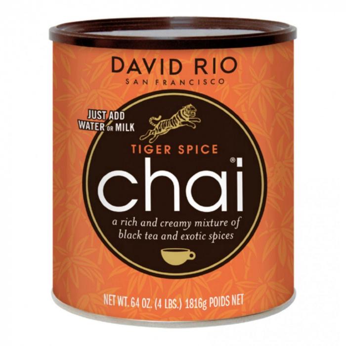 """Herbata o smaku egzotycznych przypraw David Rio """"Tiger Chai"""" (puszka)"""