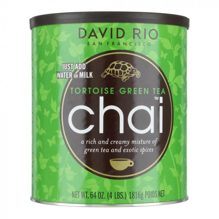 """Herbata zielona David Rio """"Tortoise Green Tea"""" (puszka)"""