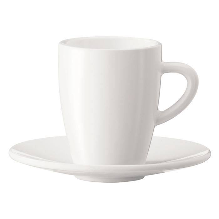 Espresso puodelis su lėkštute JURA
