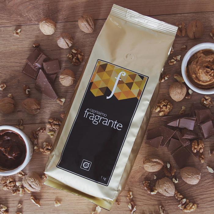 """Kawa ziarnista Przyjaciele Kawy """"Caprissimo Fragrante"""", 1kg"""