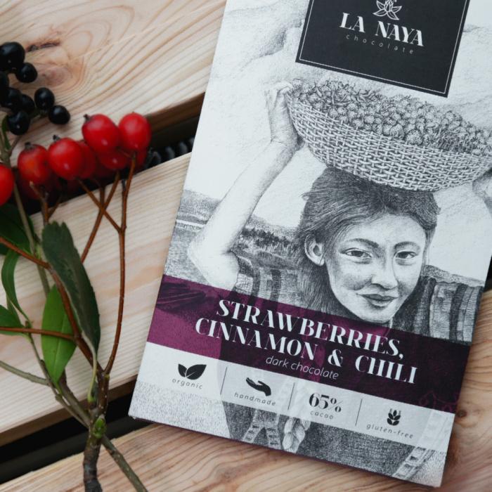 """""""La Naya"""" – ręcznie robiona, organiczna, ciemna czekolada"""
