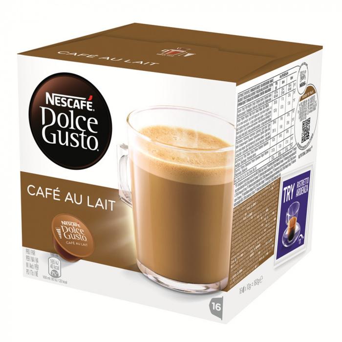 """Kahvikapselit NESCAFÉ Dolce Gusto """"Café Au lait"""""""