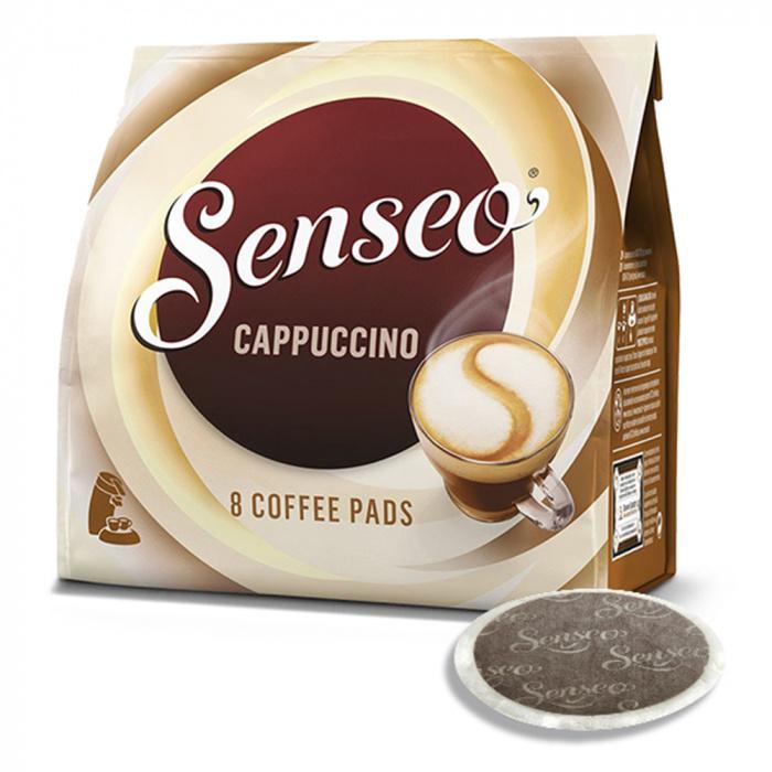 """SENSEO® """"CAPPUCCINO"""" 8 kavos pagalvėlės, 92 g"""