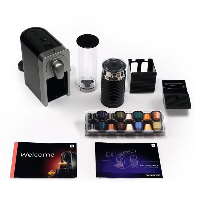 """Kafijas automāts Krups """"Nespresso Prodigio & Milk XN411T"""""""