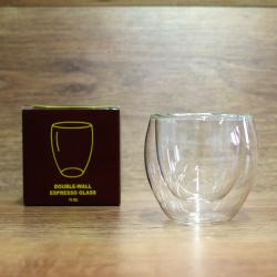 Kavos Draugo espresso stiklinė, 70ml