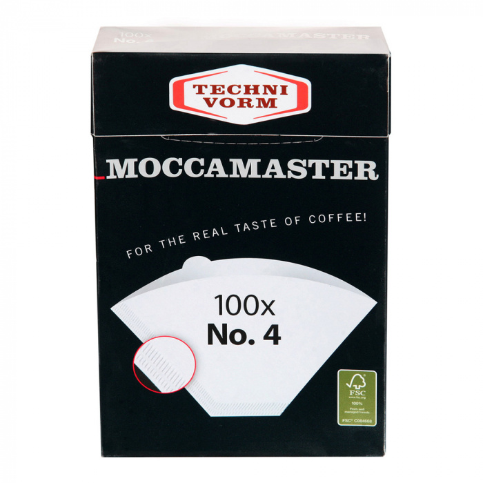 "Paper filters for coffee maker Moccamaster ""No.4"""
