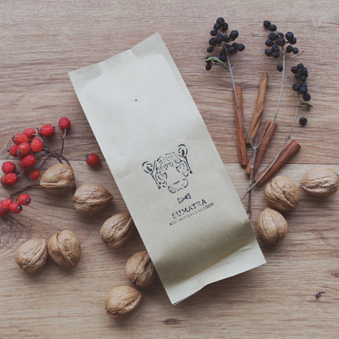 """Sumatra Koptain Gayo Besseri"" kahvipavut, 250g"