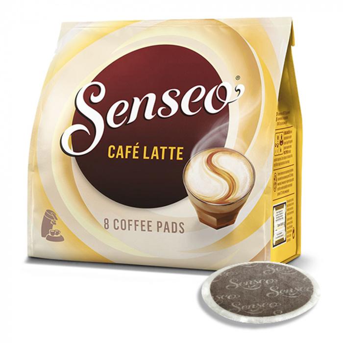 """Senseo kahvityynyt Jacobs-Douwe Egberts LT """"Cafe Latte"""", 8 kpl."""