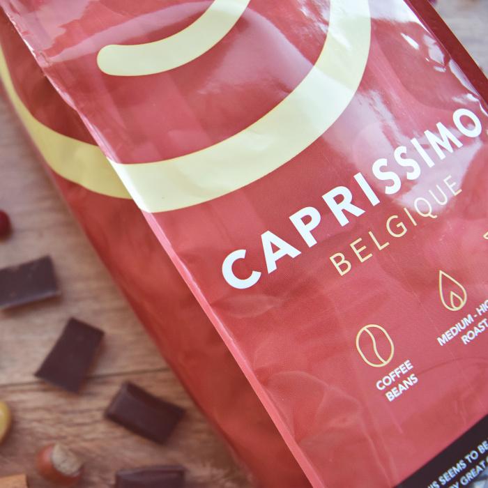 """Кофейные зёрна """"Caprissimo Belgique"""", 1 кг"""