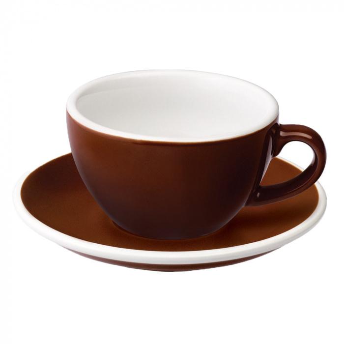 """Cappuccino kuppi ja lautanen Loveramics """"Egg"""", 200ml"""