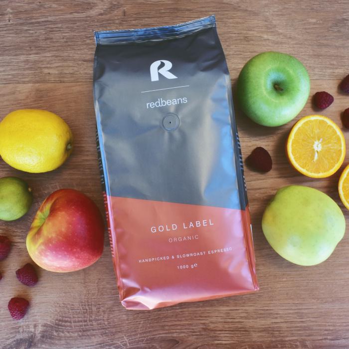 """Кофейные зёрна Redbeans """"Gold Label Organic"""", 1кг"""