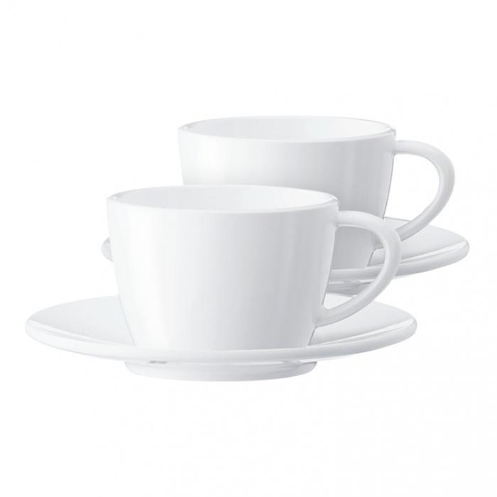 Cappuccino tasīte ar apakštasīti JURA (2 gab.)