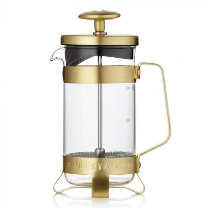 Francijas kafijas aparāts Barista & Co, 3 tasītēm