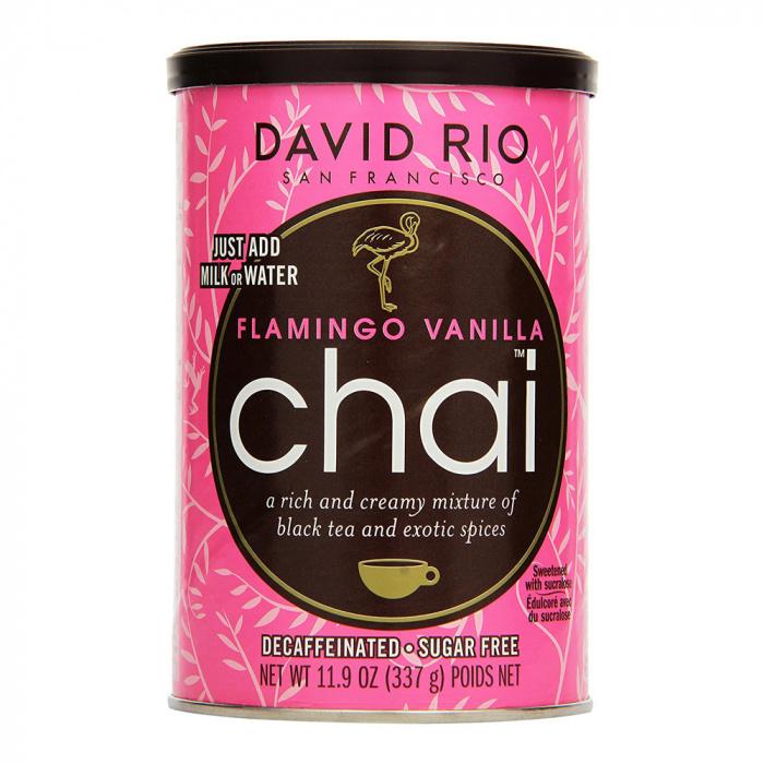 "Herbata instant David Rio ""Flamingo Vanilla Chai"", 337 g"