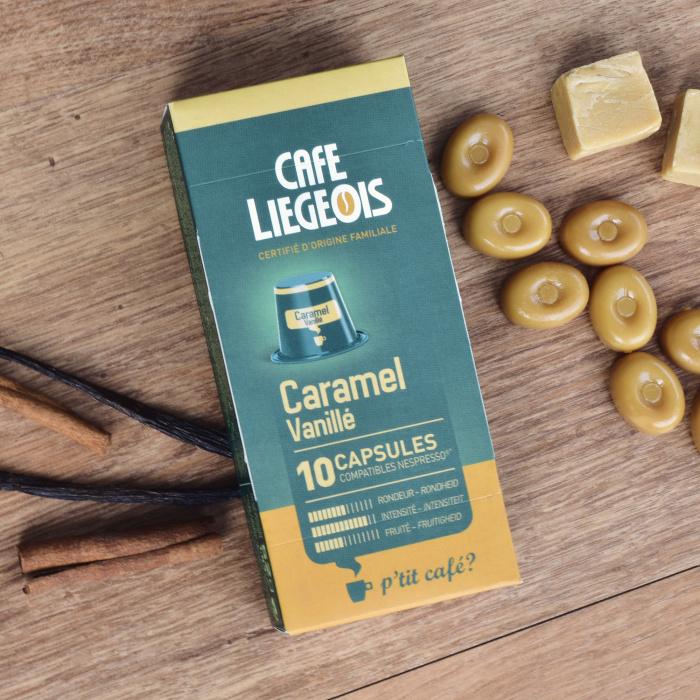 "Kohvikapslid Café Liegeois ""Caramel"", 52g, 10 tk."