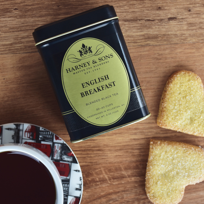 "Melnā tēja Harney & Sons ""English Breakfast"""