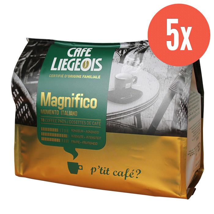 Café Liegeois MAGNIFICO kahvityynyt (x5)