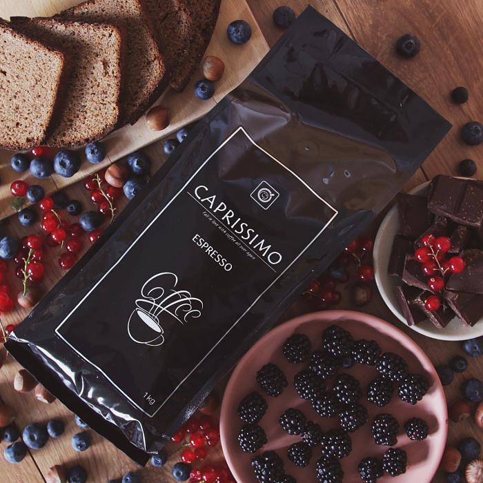 """Kawa ziarnista Przyjaciele Kawy """"Caprissimo Espresso"""", 1kg"""