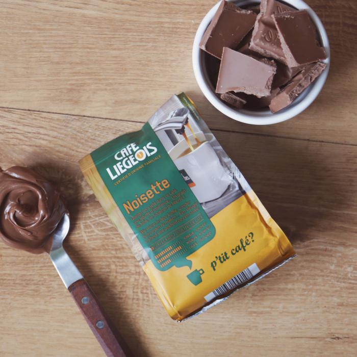 """Kavos pagalvėlės Café Liegeois """"Noisette"""", 10 vnt."""