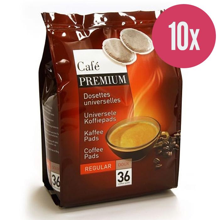 """Kafijas spilventiņi """"Coffee Premium Regular"""" 250g (x10)"""