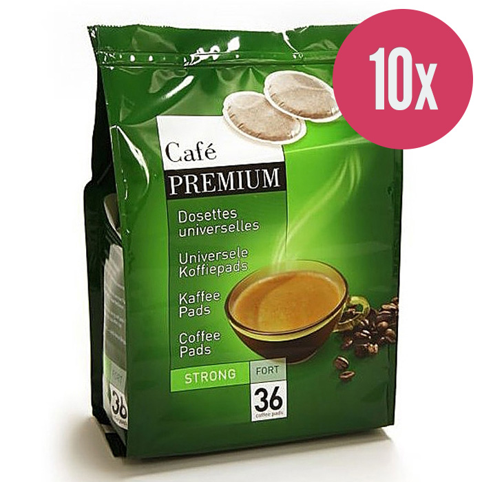 "Kafijas spilventiņi ""Coffee Premium Strong"" 250g. (x10)"