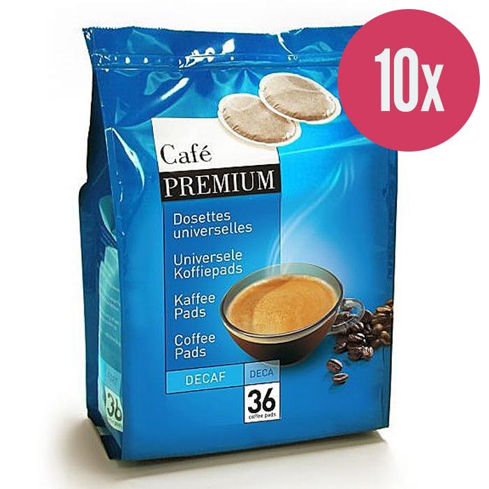 "Kafijas spilventiņi ""Coffee Premium Decaf"" 250g. (x10)"