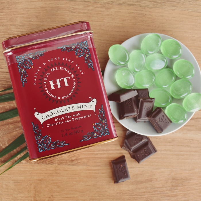"Black tea with aromas Harney & Sons ""Chocolate Mint"""