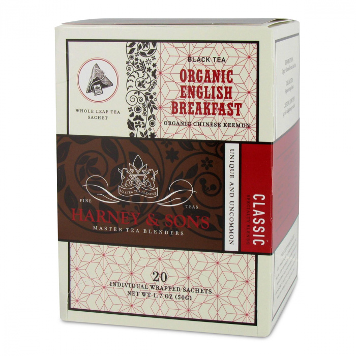 "Black tea Harney & Sons ""Organic English Breakfast"""