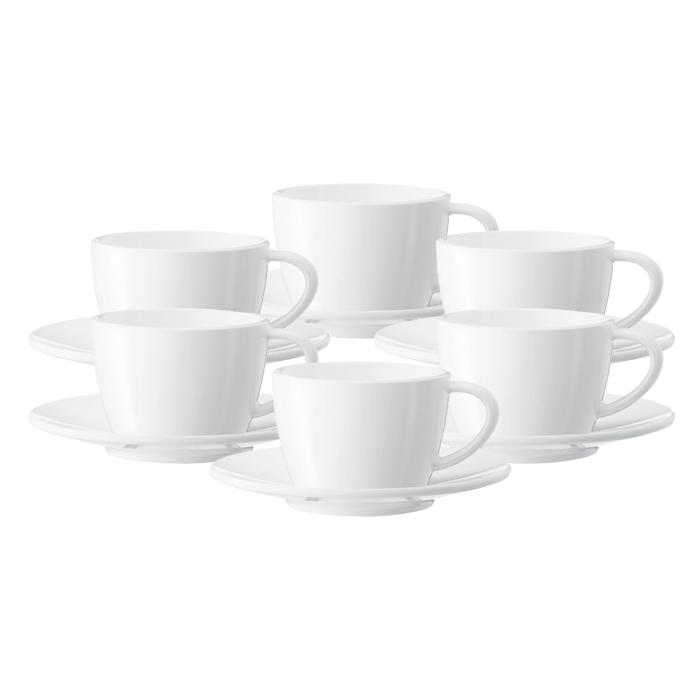 Cappuccino tasīte ar apakštasīti JURA (6 gab.)
