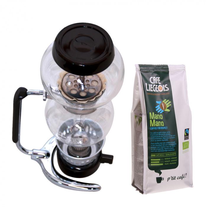 "Kafijas kanna Hario ""Coffee Syphon Moca 3"""